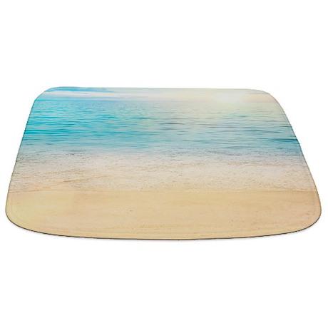 Beautiful Beach Bathmat