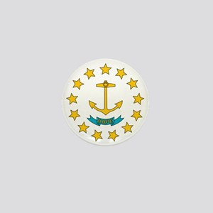 Rhode Island flag Mini Button