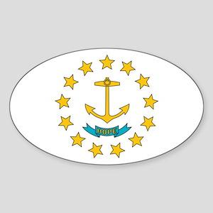 Rhode Island flag Sticker