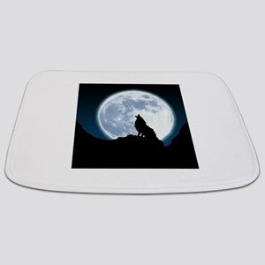 Howling Wolf Bathmat
