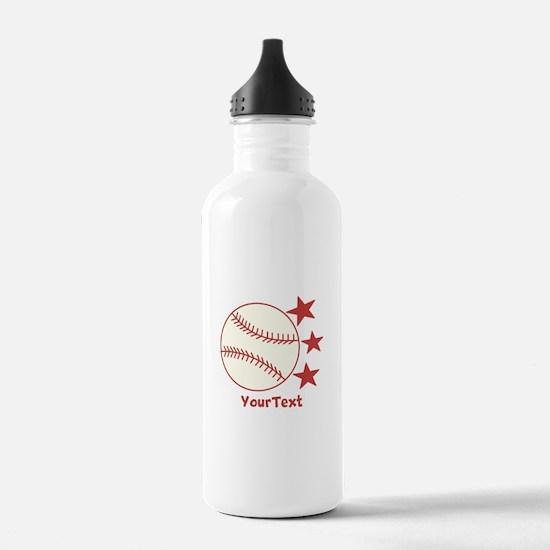 CUSTOMIZE Baseball Water Bottle