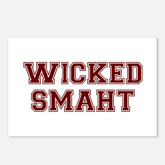 Wicked Smart (Smaht) College Postcards (Package of
