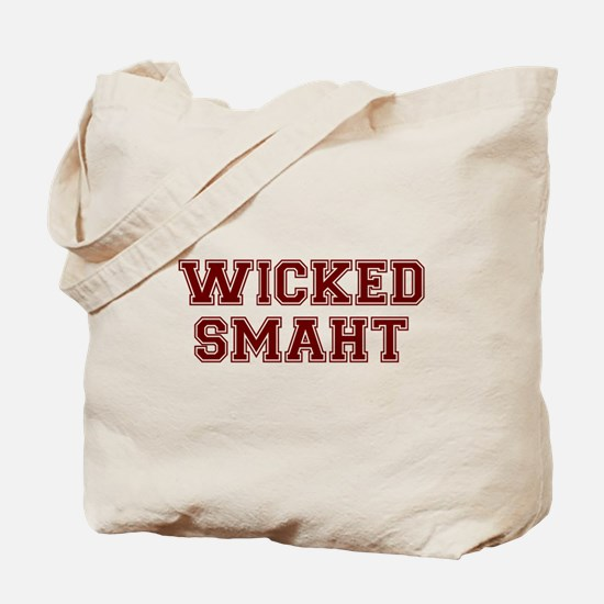 Wicked Smart (Smaht) College Tote Bag
