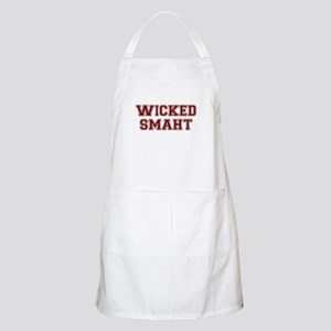 Wicked Smart (Smaht) College Apron