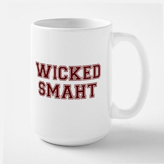 Wicked Smart (Smaht) College Mugs