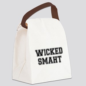 Wicked Smart (Smaht) College Canvas Lunch Bag