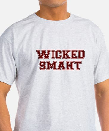 Wicked Smart (Smaht) College T-Shirt
