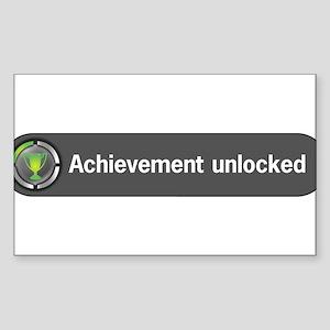 achieve-men Sticker