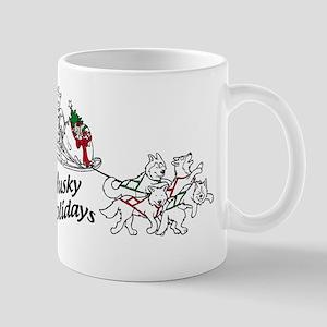 Husky Holidays Mugs
