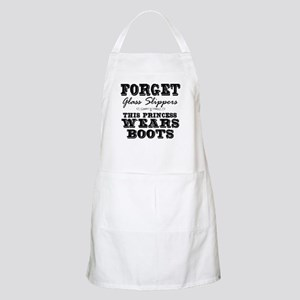 This Princess Wears Boots! Apron