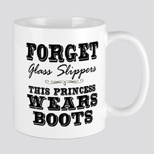 This Princess Wears Boots! Mugs