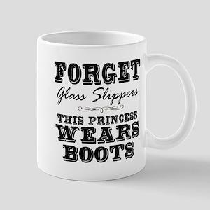 This Princess Wears Boots! Mugs