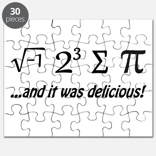 I Ate Some Pie and It Was Delicious Puzzle