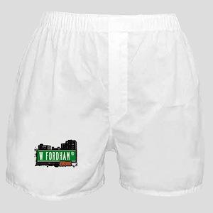 W Fordham Rd, Bronx, NYC Boxer Shorts