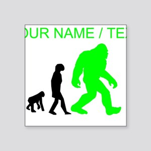 Custom Bigfoot Evolution (Green) Sticker