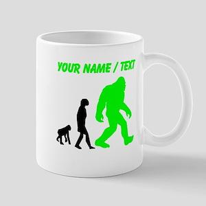 Custom Bigfoot Evolution (Green) Mugs