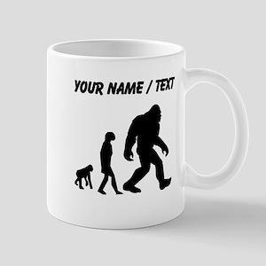 Custom Bigfoot Evolution Mugs