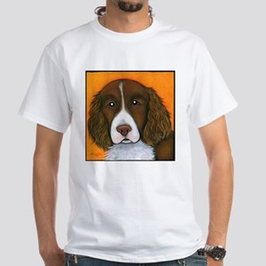 English Springer Spaniel Winston White T-Shirt
