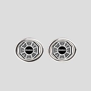 Dharma Initiaive Logo Cufflinks
