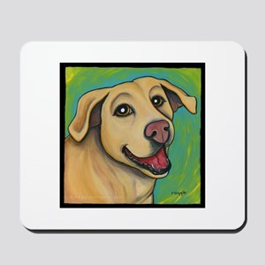 Yellow Lab Sophie Mousepad
