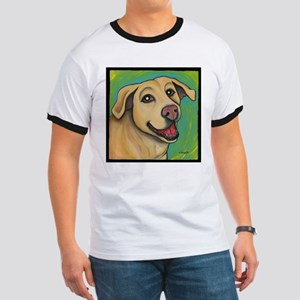 Yellow Lab Sophie Ringer T