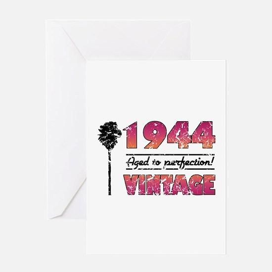 1944 Vintage (Palm Tree) Greeting Card