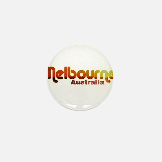 Melbourne, Australia Mini Button