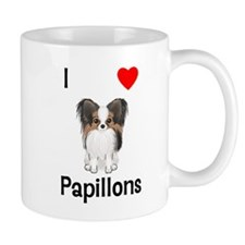 I Love Papillons (pic) Mug