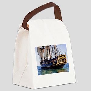 HMS Bounty Tall Ship Canvas Lunch Bag