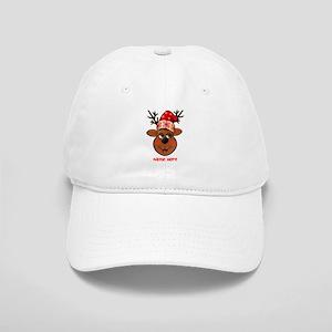 Reindeer Baseball Cap