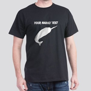 Custom Narwhal Silhouette T-Shirt