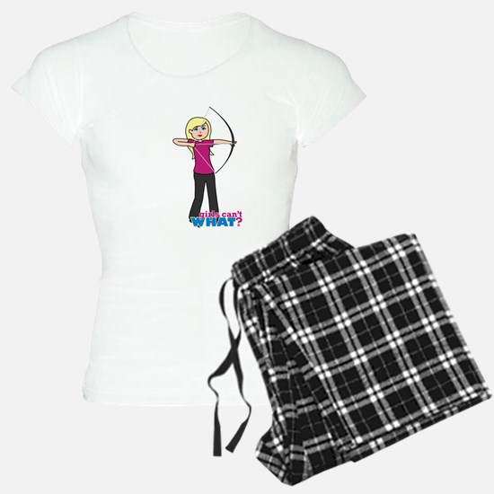 Archery Girl Light/Blonde Pajamas