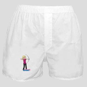 Archery Girl Light/Blonde Boxer Shorts