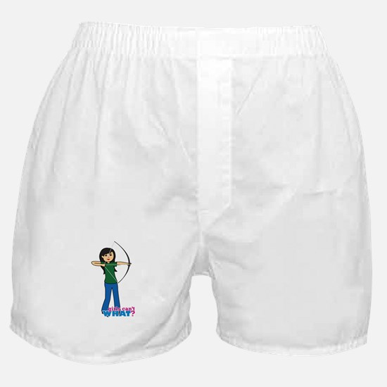 Archery Girl Medium Boxer Shorts