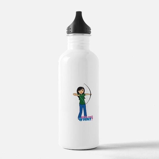 Archery Girl Medium Water Bottle