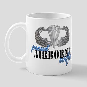 Proud Airborne Wife Mug