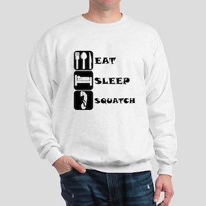 Eat Sleep Squatch Sweatshirt
