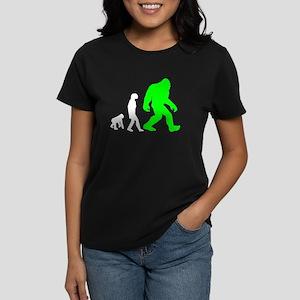 Bigfoot Evolution (Green) T-Shirt