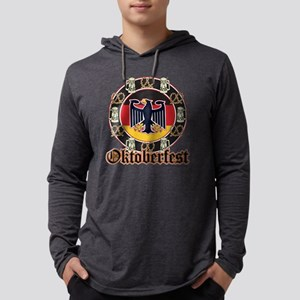 Oktoberfest Beer and Pretzels Long Sleeve T-Shirt
