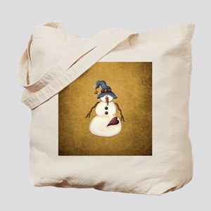 PRIM SNOWMAN Tote Bag