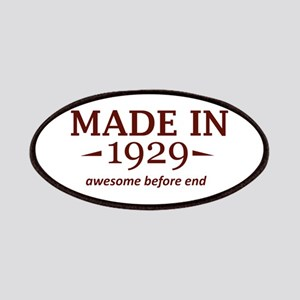 Made in 1929 Patches