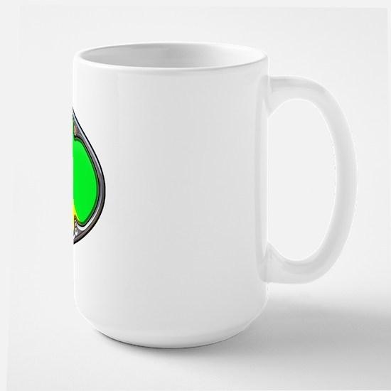 Framed NIRTOX Dive Flag Large Mug