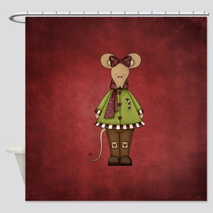 MERRY MOUSE Shower Curtain