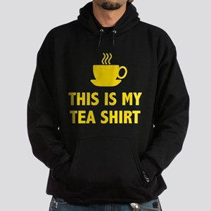 This Is My Tea Shirt Hoodie (dark)