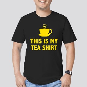 This Is My Tea Shirt Men's Fitted T-Shirt (dark)