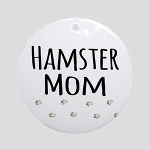 Hamster Mom Ornament (Round)