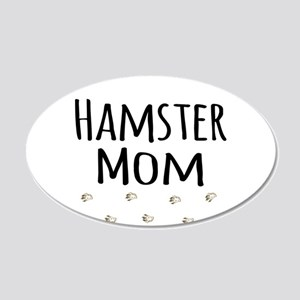 Hamster Mom Wall Decal