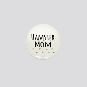 Hamster Mom Mini Button