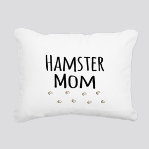 Hamster Mom Rectangular Canvas Pillow