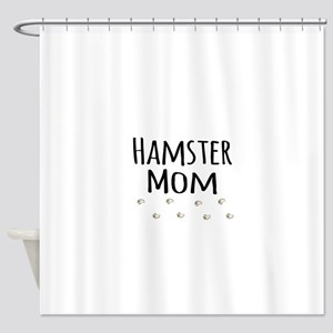 Hamster Mom Shower Curtain